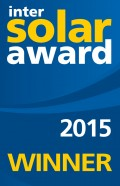 Banner Intersolar AWARD 2015
