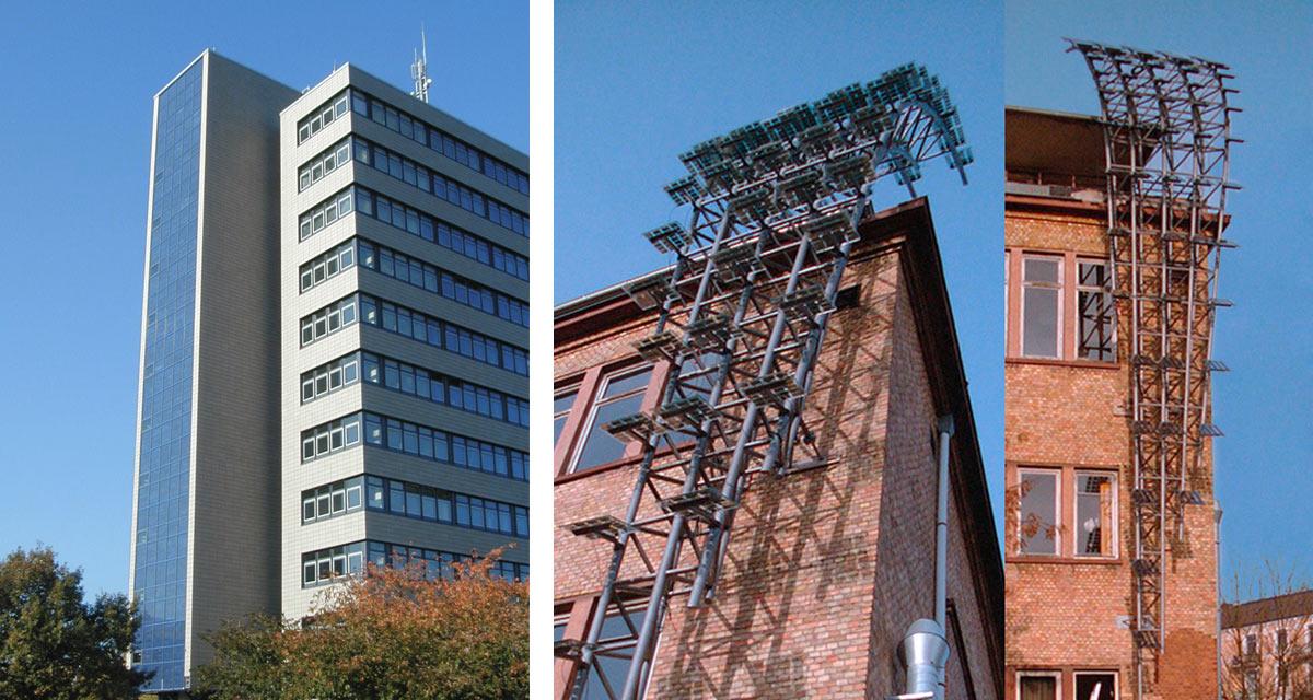 fachada sin aislamiento hanover trampa de sol escuela de arte hamburgo